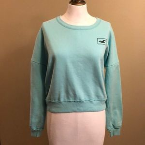 Wmns Hollister Cropped sweatshirt